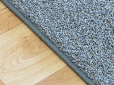 Teppich nach maß  Teboshop - Zottelteppich Lorenzo nach Maß bestellen in grau