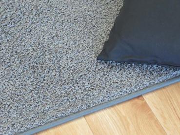 Hochflor Teppich Grau. Teppich Nach Maß Grau