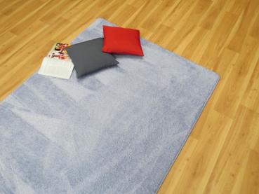 Captivating Hochflor Teppich Blau. Hochflor Nach Maß Nice Look