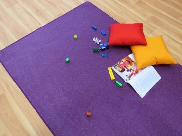 Teppich nach mass  Teboshop - Vorwerk Teppich nach Maß, gekettelt, Ciao Fb.3L06 Lila