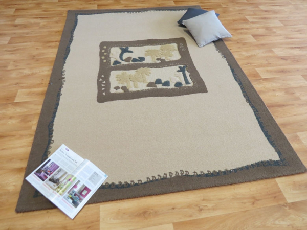 Teboshop  Oasis Teppich aus der Oasis Collection, Fb beige